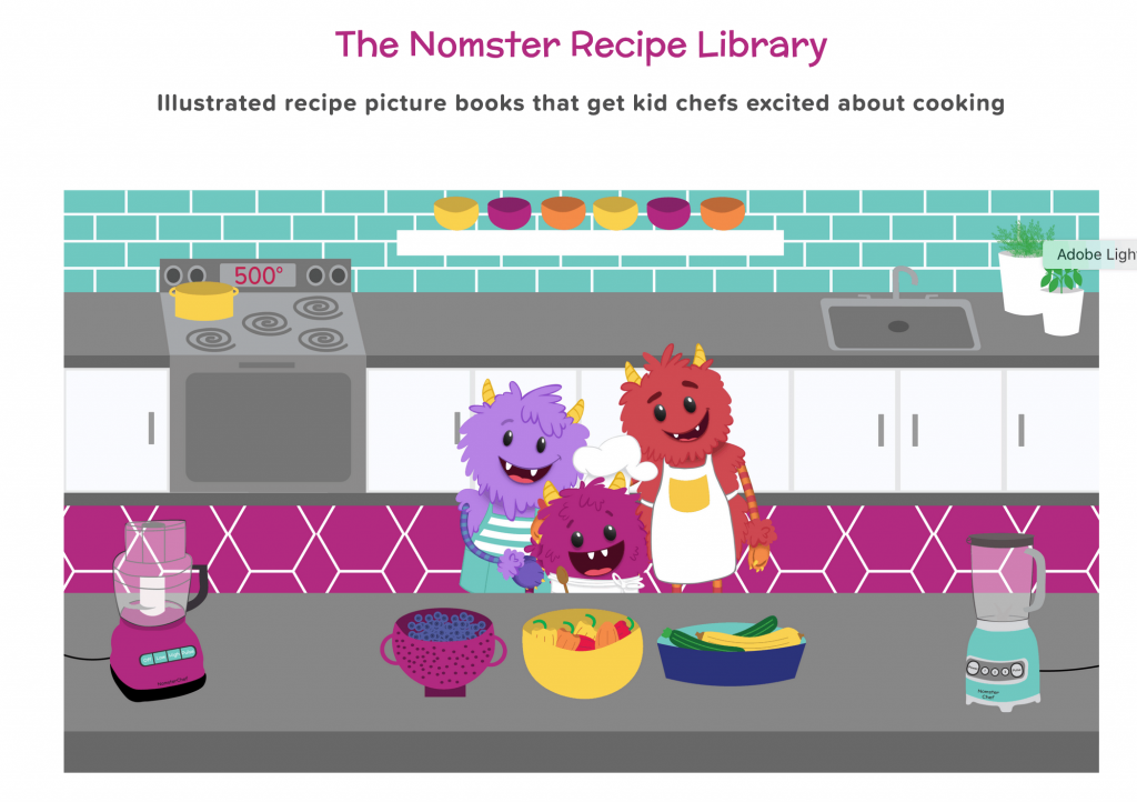 Nomster chef - list of science resources for kids