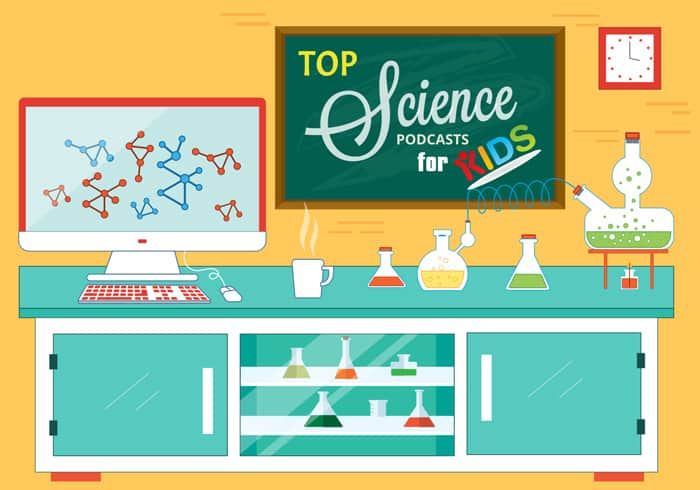 top science podcasts for kids
